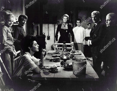 Sue Lyon, Mildred Dunnock, Anne Bancroft, Margaret Leighton, Eddie Albert, Betty Field
