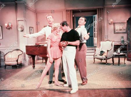 Dan Dailey, Sheree North, Gordon Macrae, Ernest Borgnine