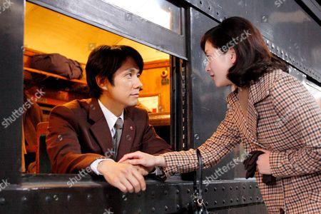 Hidetoshi Nishijima, Ryoko Hirouse