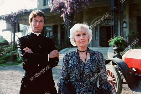 Stock Photo of Richard Chamberlain, Barbara Stanwyck