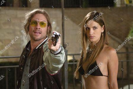Christian Slater, Breanne Racano
