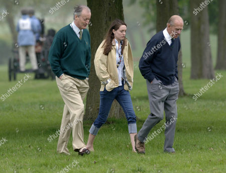 Lord Brabourne, Alexandra Romsey and Prince Philip