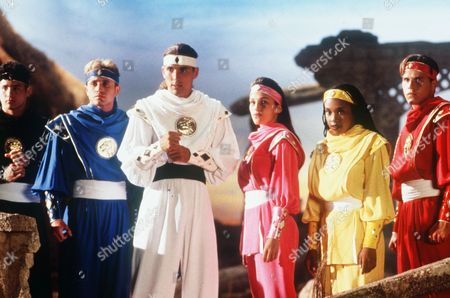 Johnny Yong Bosch, David Yost, Jason Frank, Amy Jo Johnson, Karan Ashley, Steve Cardenas