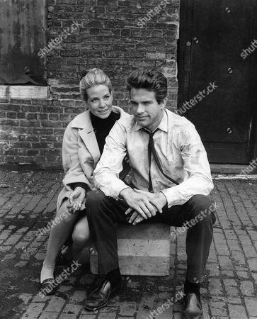 Alexandra Stewart, Warren Beatty