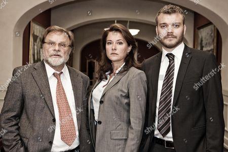 Stock Photo of Lars Knutzon, Sidse Babett Knudsen, Johan Philip Asbaek