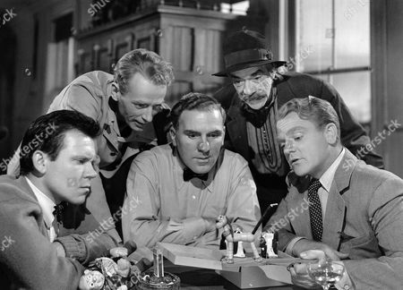 Stock Photo of Richard Erdman, Paul Draper, William Bendix, Pedro De Cordoba, James Cagney