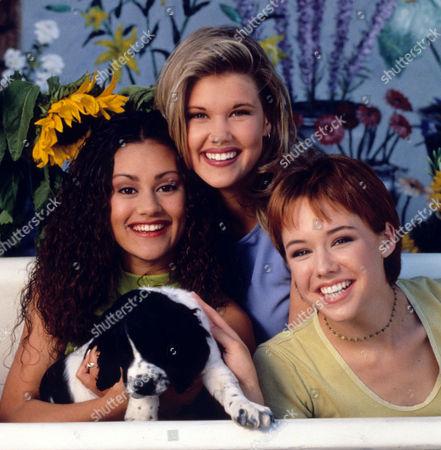 Samantha Becker, Sarah Lancaster, Lindsey McKeon
