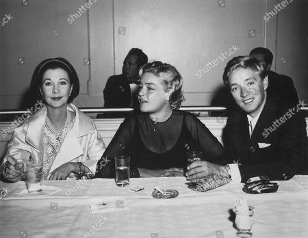 Vivien Leigh, Simone Signoret, Oskar Werner