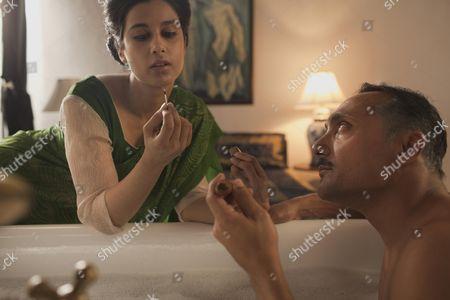 Stock Photo of Anita Majumdar, Rahul Bose