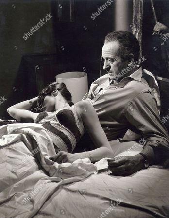 Francoise Dorleac, David Niven