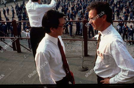 Stock Picture of Gedde Watanabe, Michael Keaton