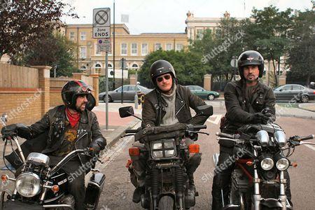 Phil Daniels, Geoff Bell, Gary Stretch