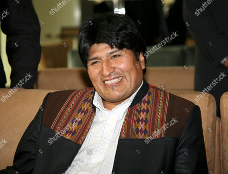 Bolivan President Juan Evo Morales Ayma