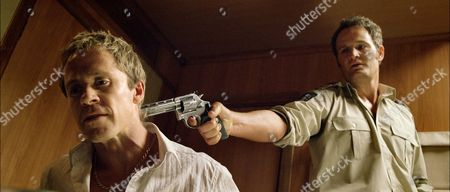 Stock Photo of Travis McMahon, Jason Clarke