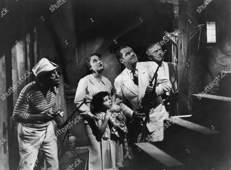 Clarence Muse, Fay Wray, Cora Sue Collins, Jack Holt, Arnold Korff