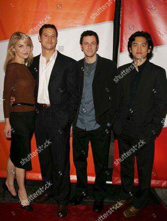 Rhea Seehorn, Conor Dubin, Jarrad Paul and John Cho