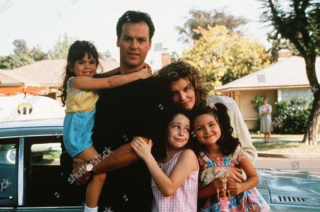 Blair Swanson, Michael Keaton, Rene Russo, Grace Johnston, Rhea Silver-Smith