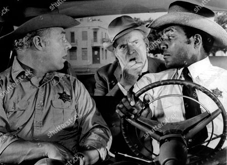 George Kennedy, Fredric March, James (Jim) Brown