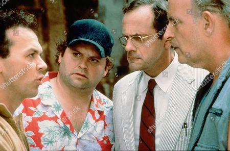 Michael Keaton, Stephen Furst, Christopher Lloyd, Peter Boyle