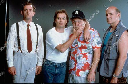 Christopher Lloyd, Michael Keaton, Stephen Furst, Peter Boyle