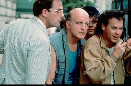 Christopher Lloyd, Peter Boyle, Stephen Furst, Michael Keaton