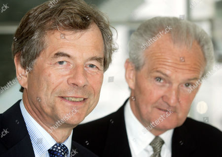 Martin Broughton and John Sunderland. Broughton takes over the roll of deputy president of the CBI in June, becoming president in January 2007