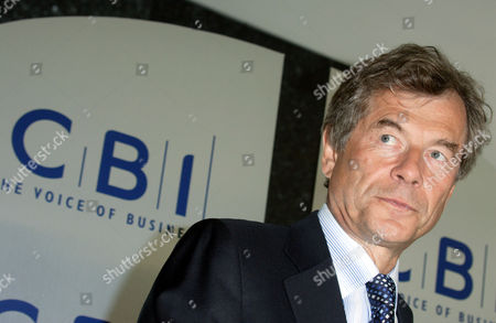 Editorial picture of MARTIN BROUGHTON AT CBI HEADQUARTERS, LONDON, BRITAIN - 15 MAY 2006