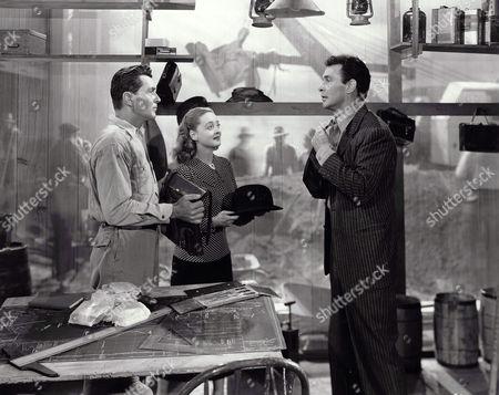 Kent Taylor, Bette Davis, Barry Sullivan