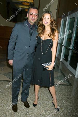 Mazdack Rassi and Petra Nemcova