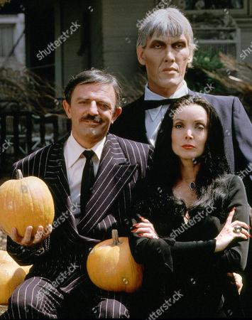 John Astin, Ted Cassidy, Carolyne Jones