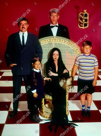 John Astin, Lisa Loring, Carolyn Jones, Ted Cassidy