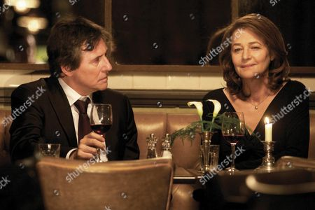 Stock Picture of Gabriel Byrne, Charlotte Rampling