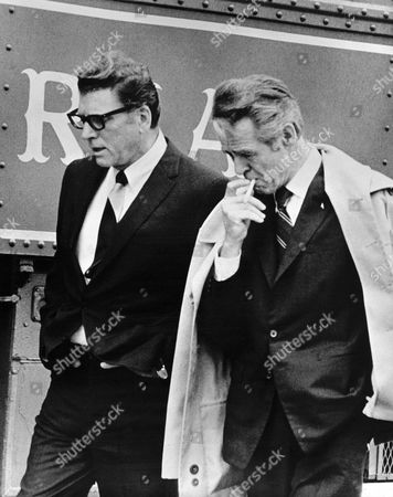 Robert Ryan, Burt Lancaster