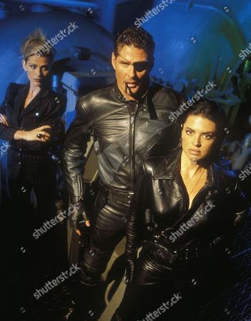Sandra Hess, David Hasselhoff, Lisa Rinna