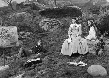Arthur Kennedy, Olivia De Havilland, Nancy Coleman