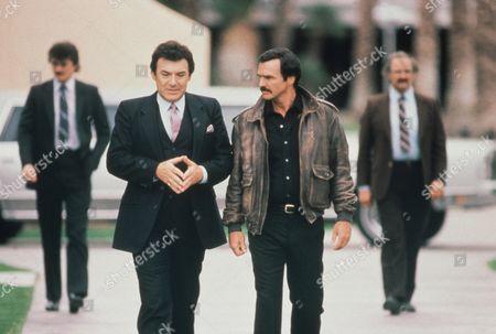 Stock Image of Joseph Mascolo, Burt Reynolds