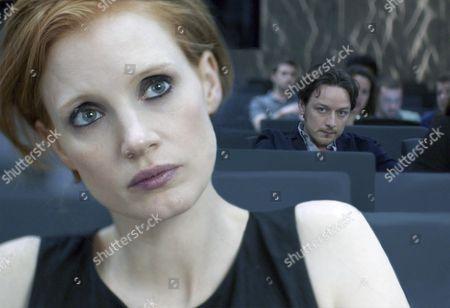 Jessica Chastain, James McAvoy