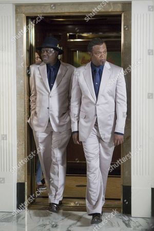 Stock Image of Bernie Mac, Samuel L. Jackson