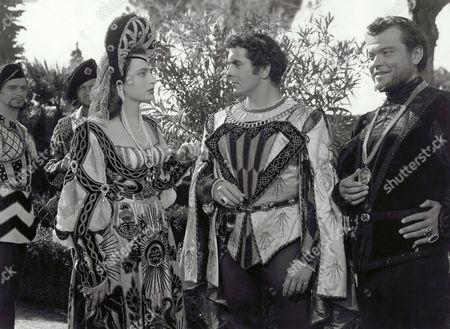 Marina Berti, Tyrone Power, Orson Welles