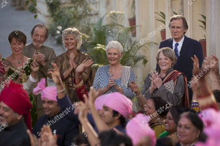 Celia Imrie, Ronald Pickup, Diana Hardcastle, (Dame) Judi Dench, Maggie Smith, Bill Nighy