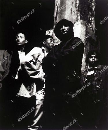 Khalil Kain, Omar Epps, Tupac Shakur, Jermaine Hopkins