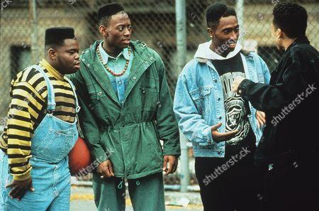 Jermaine Hopkins, Tupac Shakur, Omar Epps, Khalil Kain