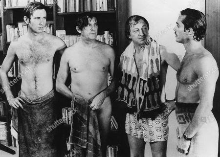 John Hargreaves, Ray Barrett, Graham Kennedy, Harold Hopkins