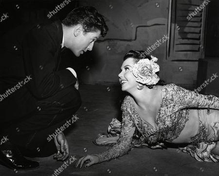Farley Granger, Ann Miller