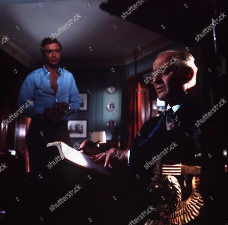 Stock Picture of Michael Caine, Eric Portman