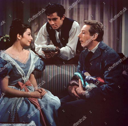 Zizi Jeanmaire, Farley Granger, Danny Kaye