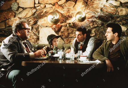 Stock Image of Maury Chaykin, Nathan Watt, Michael Richards, John Turturro