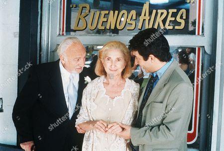 Hector Alterio, Norma Aleandro, Ricardo Darin