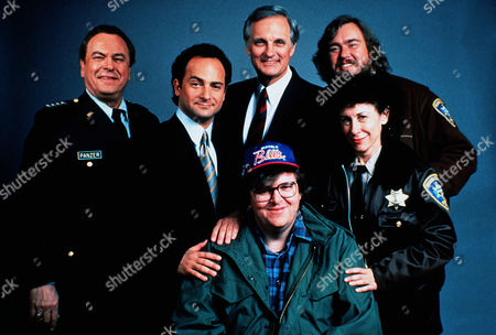 Rip Torn, Kevin Pollak, Alan Alda, Michael Moore, John Candy, Rhea Perlman