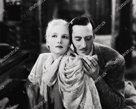 Ann Harding, Basil Rathbone